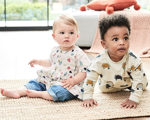 Babywear | Baby Boy, Girl & New Born Clothing | M&S LU