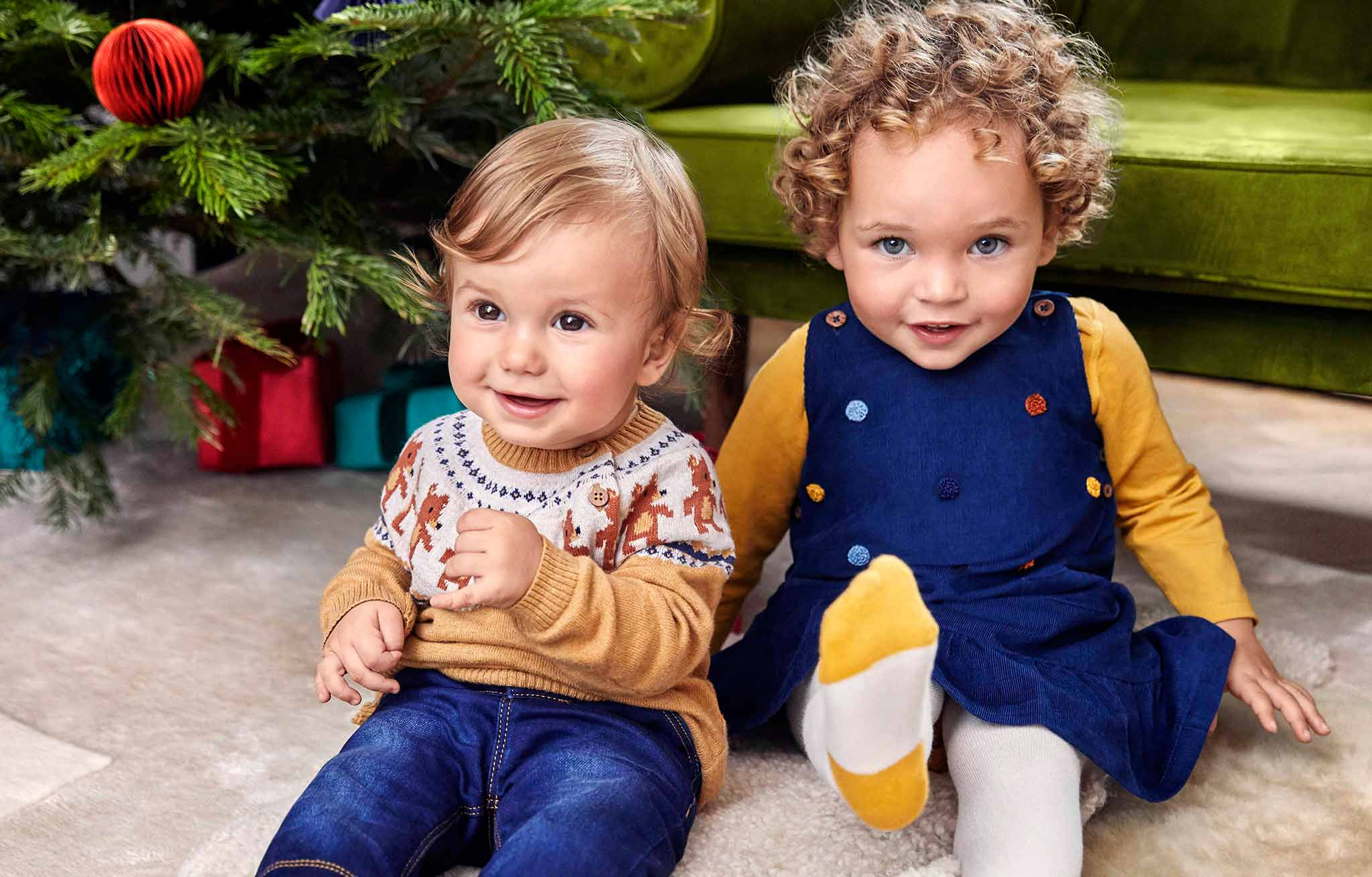 Fun, festive babywear